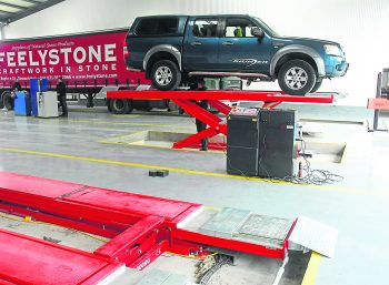We use the latest and most up to date equipment and systems in our workshop